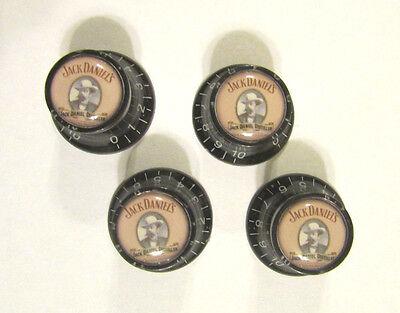 Jack Daniel's Guitar Knobs, Jack Daniels logo volume Guitar Knobs, JD knobs for sale  USA