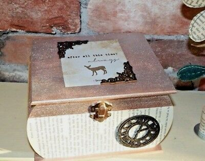 Harry Potter inspired Keepsake/Jewellery box After all this time Always. Wedding