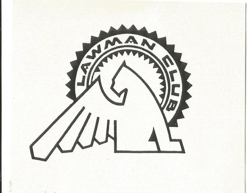 Logo-THE LAWMAN  CLUB.Griffin. Drawing original=ProductsOverTime