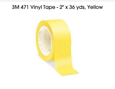 3M 471 Yellow Vinyl Marking Tape 2