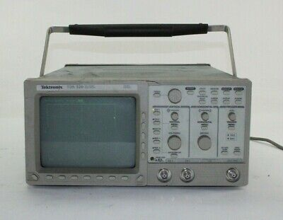 Tektronix Tds 320 100mhz Digital Real Time 2ch Oscilloscope