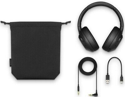 Sony XB900N Extra Bass Noise Canceling Wireless Headphones WH-XB900N Black