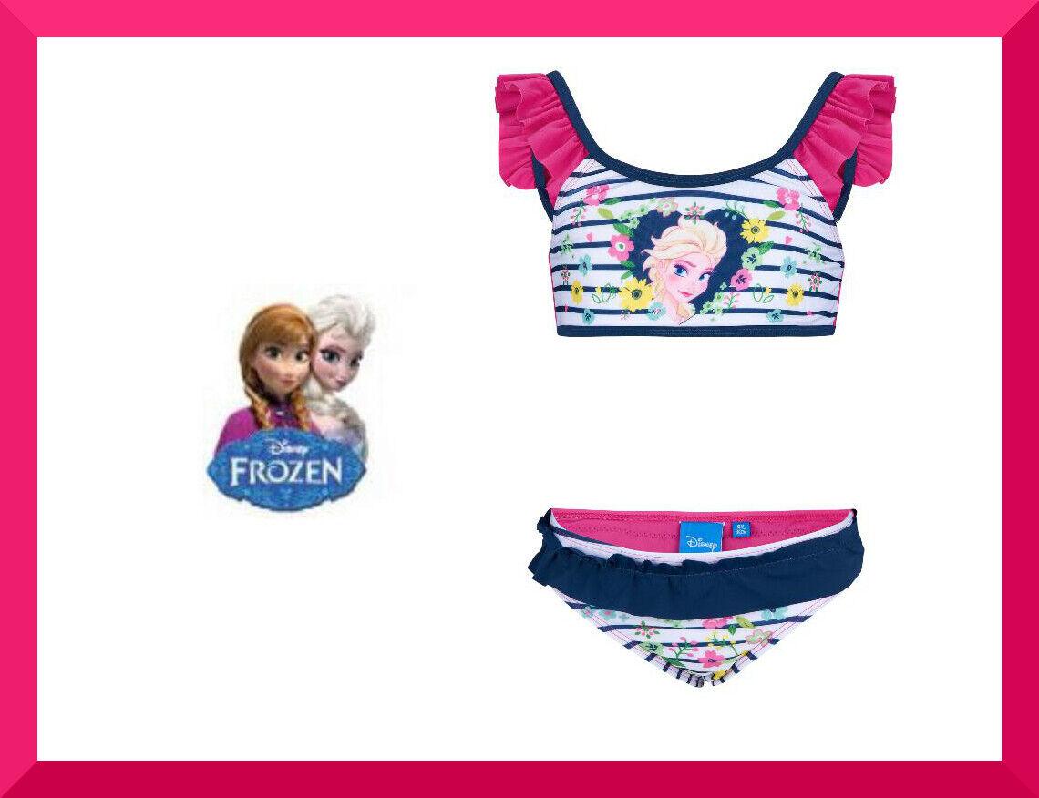 Disney Frozen Eiskönigin Bikini Tankini Badeanzug 104 / 116 / 128 / 140  NEU