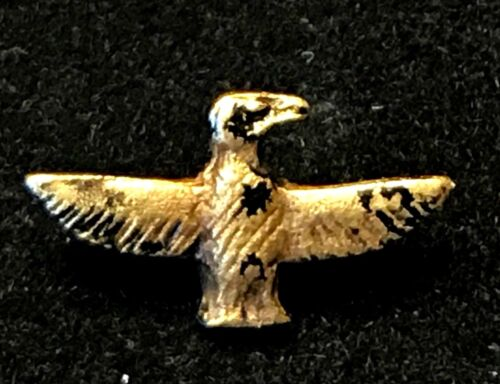 ANCIENT EGYPTIAN GOLD AMULET; VULTURE WITH EXTENDED WINGS; 18TH DYNASTY!