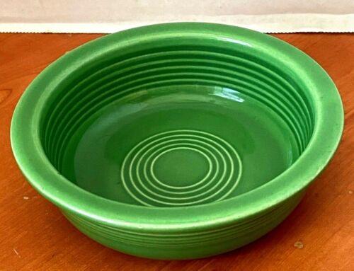 Fiesta Vintage Medium Green 5.5 Inch Nappy Fruit Bowl 1950-60s Fiestaware HLC