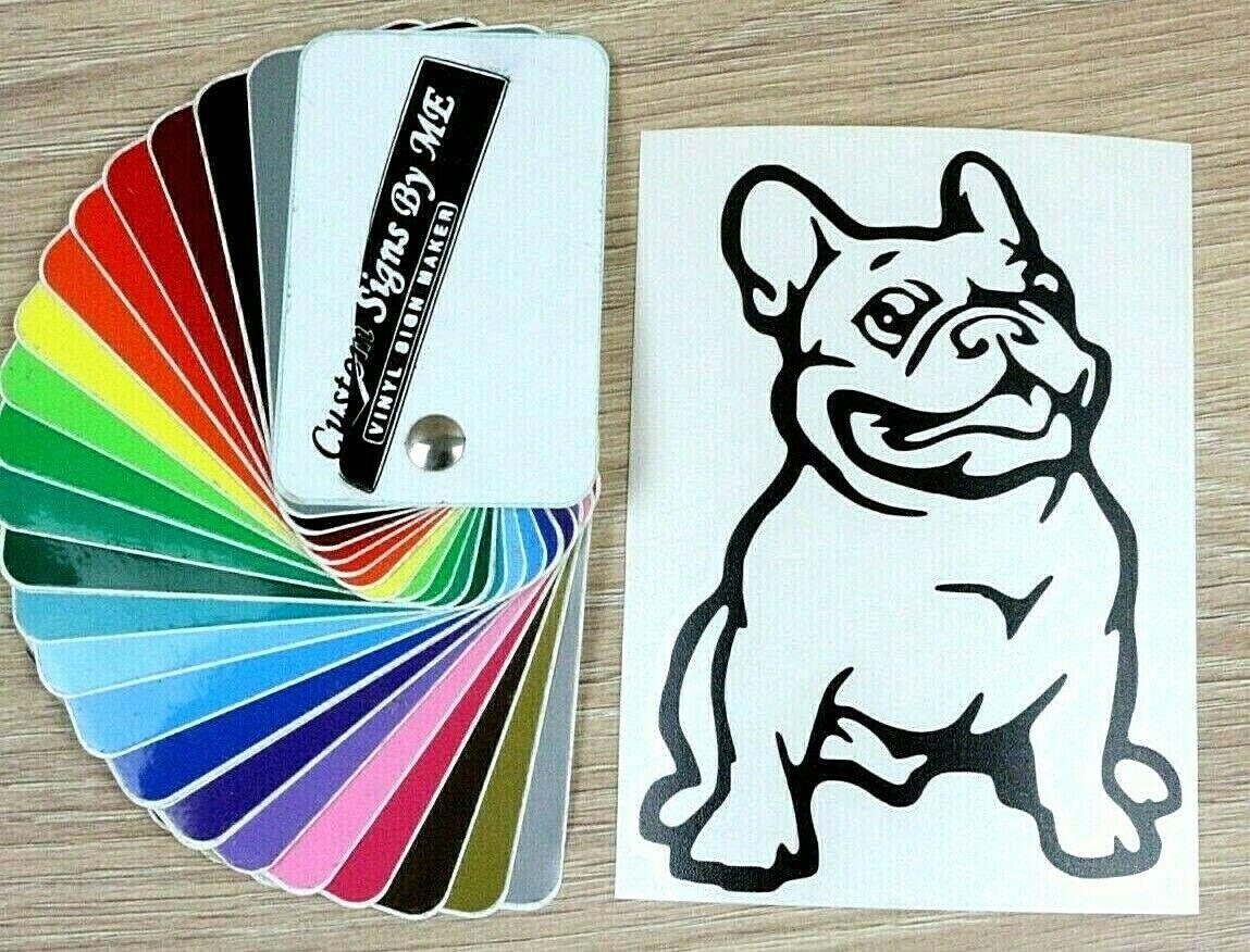 Doberman Dog Sticker Vinyl Decal Adhesive Wall Car Window Bumper Tailgate Laptop