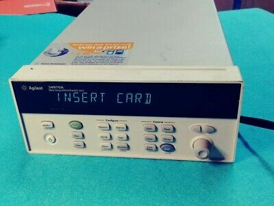 Agilent 34970a Data Acquisition Switch Unit - No Cards And Wpower Cord