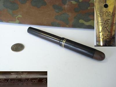 WWII GERMAN OFFICER FOUNTAIN PEN w/14K GOLD TIP - DRGM