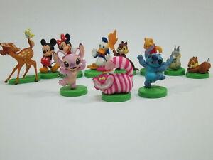 WALT-DISNEY-Furuta-CHOCO-EGG-PERSONAGGI-mickey-winnie-Bambi-macchine-ANGELO