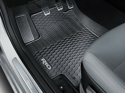 Genuine Kia All New 2017 Rio RHD Interior Rubber Floor Mats PN H8131ADE10GR
