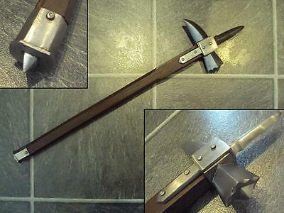 Spiked Medieval Warhammer. Perfect For Costume Re-enactment Stage or Decoration