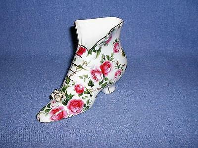 Baum Bros. Formalities High Top Porcelain Shoe Vase Roses
