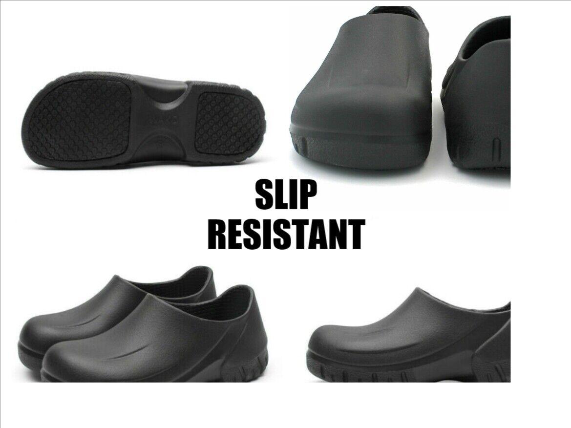 NEW Mens/ Women Non-slip Chef Shoes Kitchen Oil-resistant Wa