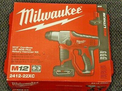 Milwaukee 2412-22xc M12 Rotary Hammer