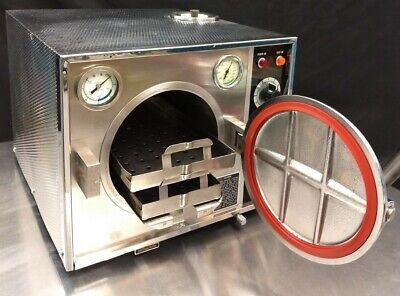 Pelton Crane Ocm Steam Autoclavesterilizer 30 Day Warranty
