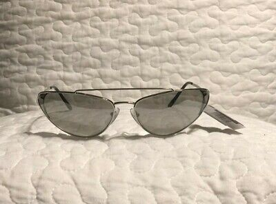 New Prada PR-62VS66-Z Irregular Series Cat Eye Women's Sunglasses 66mm Authentic