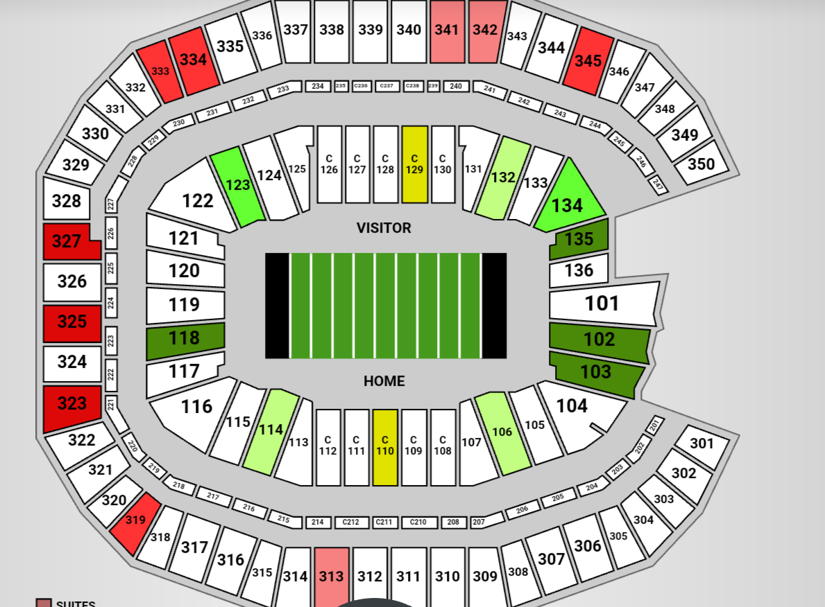 Изображение товара 2 Alabama vs Florida State Football Tickets Tide Pride Seats