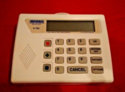 Brinks Broadview Bhs-4000 Alarm System Control Panel - Free Shipping