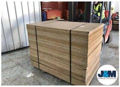 Chipboard Sheets / Racking Storage Levels 1500mm x 890mm x 25mm -JOB LOT OF 42