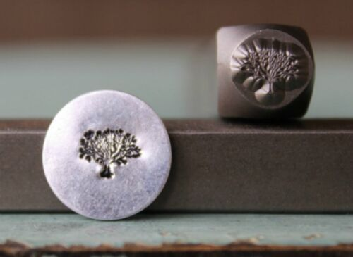 SUPPLY GUY 6mm Tree of Life Metal Punch Design Stamp SGCH-126