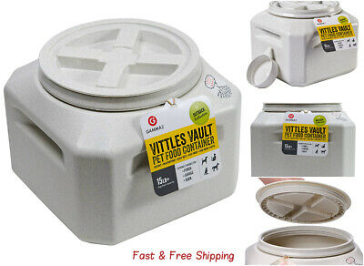 Vittles Vault Outback 15 lb Airtight Pet Food Storage Container - Free Ship