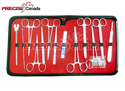 Precise Canada Medical Students Anatomy Biology Dissection Kit With Case