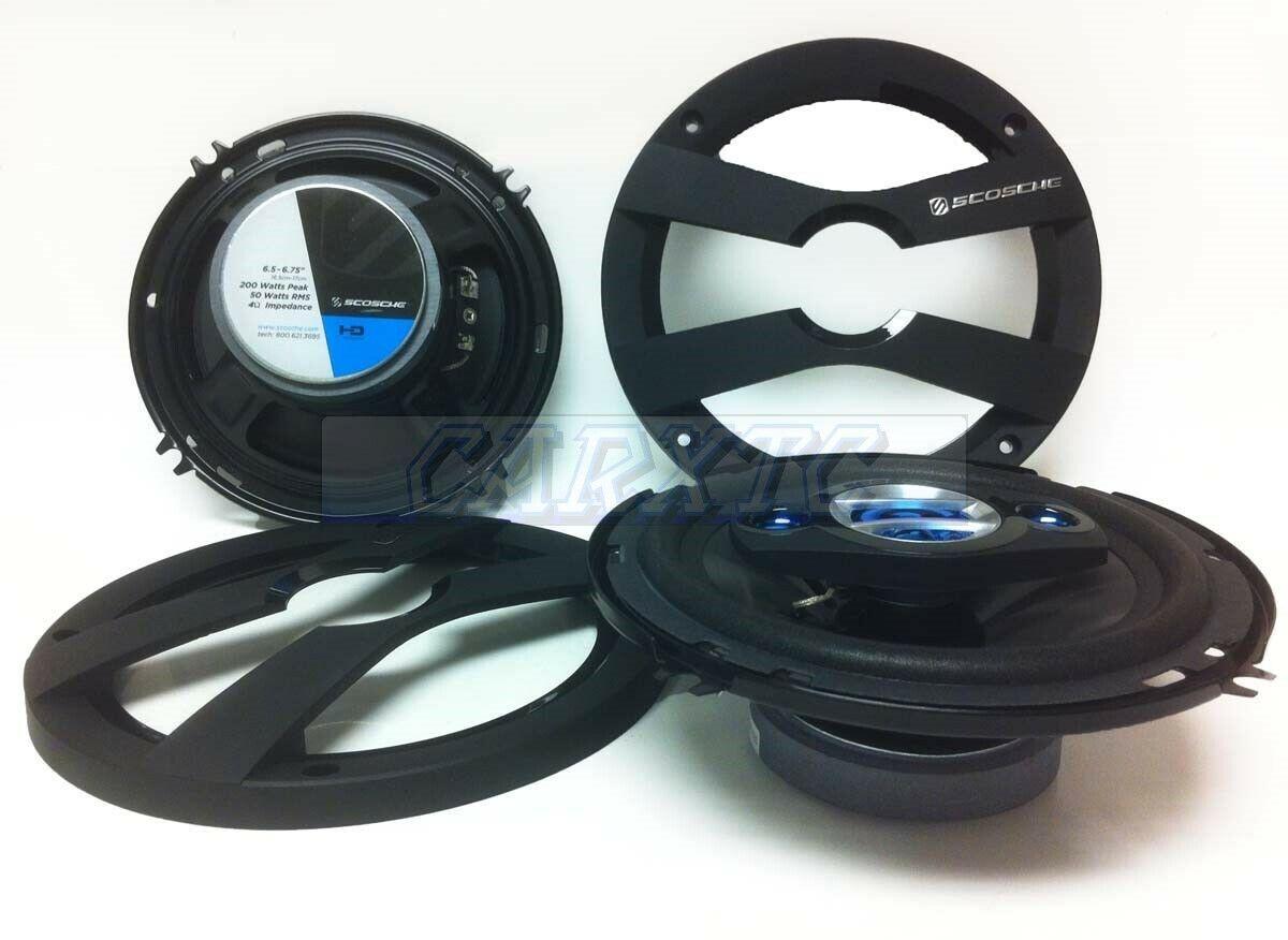4ohm 6504-FD 200w G 6.5 Car Speakers Front Door 4way