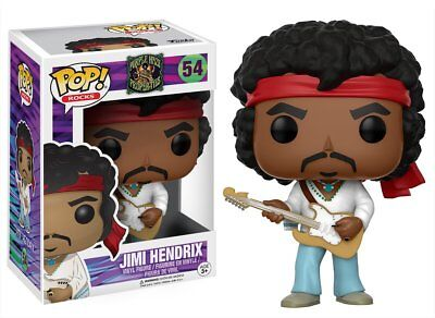 Funko Pop Rocks Purple Haze Properties Jimi Hendrix Woodstock Vinyl Figure 14352