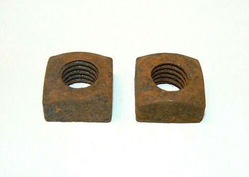 "5/8""-11 Square Nuts (Semi-Finished)- Coarse Thread - Plain Finish-Lot of 25 Pcs."