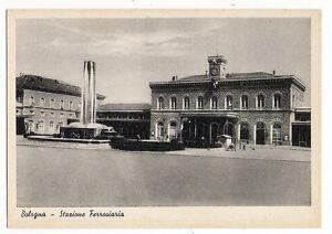 Bologna - Stazione Ferroviaria - edizione F.F. 1942 - 1745 E - COSENZA, Italia - L'oggetto può essere restituito - COSENZA, Italia