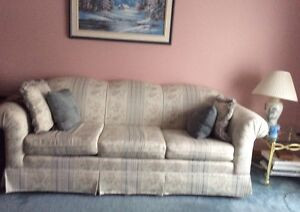 Couch & Chair (optional cover. SEE PICS)