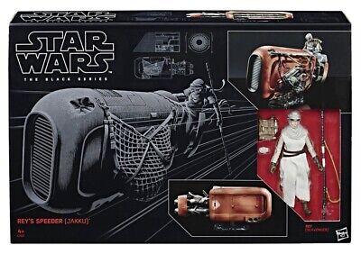 Star Wars Black Series Rey's Speeder (Jakku) #3 Action Figure 2019 New