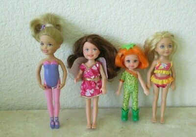 Lot BARBIE Chelsea Kelly dolls  EUC