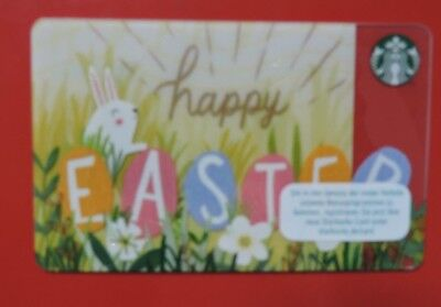 STARBUCKS GERMANY/GERMAN HAPPY EASTER 2017  GIFT CARD  NO VALUE COLLECTORS ITEM