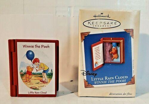 Hallmark Keepsake Disney Winnie The Pooh Little Rain Cloud Book Ornament Series
