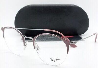 NEW Rayban Prescription Frame Brown Gunmetal  RX3578V 2907 50mm 3578 Metal (Round Prescription Sunglasses)