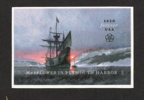 5524 Mayflower In Plymouth Harbor US Single Mint/nh FREE SHIPPING