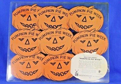 VINTAGE MILLS RESTAURANT PUMPKIN WEEK HALLOWEEN JACK O LANTERN PUMPKIN - Halloween Coupon