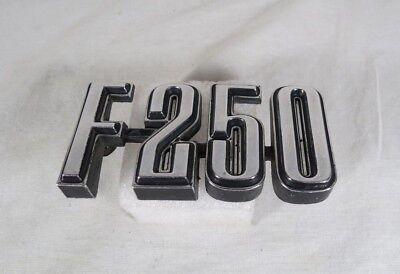 FORD F250 FENDER EMBLEM 73-77 GENUINE OEM BADGE sign symbol logo