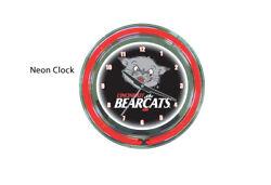 Cincinnatti Bearcats Double Ring Neon Wall Clock
