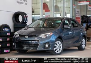 2015 Toyota Corolla S VERY CLEAN! HEATED SEATS! BLUETOOTH! BACK