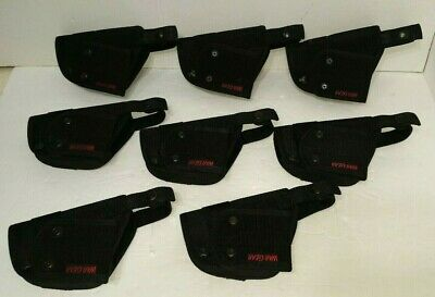 Lot Of 8 Ballistic Nylon Holster Fits G 17 19 22 23 War Gear Black 7347 Police
