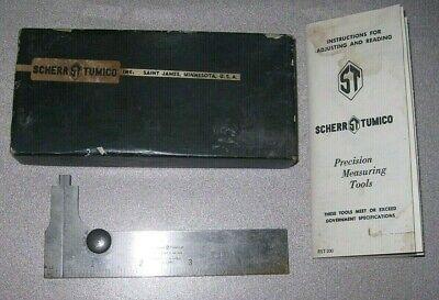 Scherr-tumico 5-inch Vernier Caliper In Box With Instructions