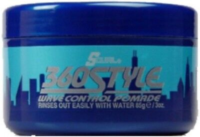 Luster's S-Curl 360 Style, Wave Control Pomade 3 oz S-curl 360 Style Pomade
