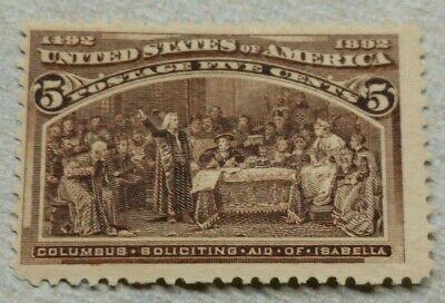 US Stamp #234 MH OG 1893