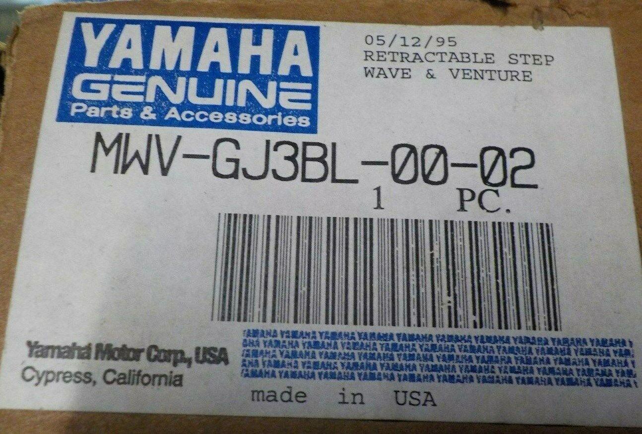 Yamaha WaveVenture Retractable Boarding Step MWV-GJ3BL-00-02
