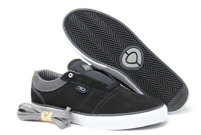 C1RCA Men's Goliath Athletic Fashion Skate Shoes Black/Frost Grey Size 10 for sale  Miami