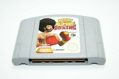 Ready 2 Rumble Boxing NINTENDO 64 N64 Video Game Cartridge