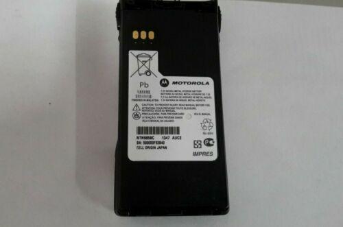 OEM Motorola NTN9858C Impres Radio Battery NiMH for XTS2500 XTS1500 & MT1500