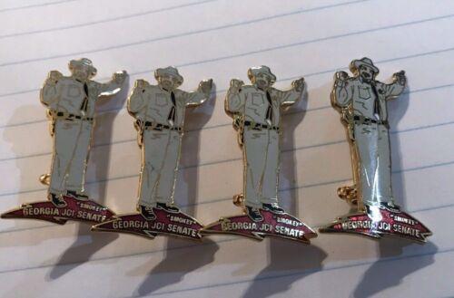 Lot 4 Vintage Jaycees Georgia Senate PIN, Collectors, Smokey, Buford T. Justice